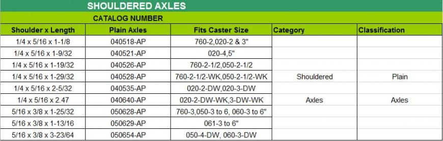 Shoulder-Axles-Plain